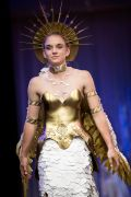 """The Guardian,"" Paper Fashion Show 2017, Team - The Hanger Etc., Lead Designers - Michelle Lieser-Booren, Model - Jessica Lieser"